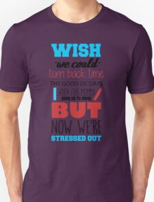 Twenty One Pilots - Stressed Out White T-Shirt