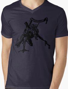 Xenomorph - Tee Print Mens V-Neck T-Shirt