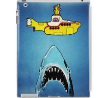 Jaws-Yellow Submarine  iPad Case/Skin