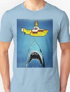 Jaws-Yellow Submarine  Unisex T-Shirt