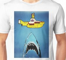 Jaws-Yellow Submarine  Unisex T-Shirt