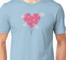 Balloons arranged as heart  Unisex T-Shirt