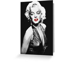 Marilyn Black&White Greeting Card
