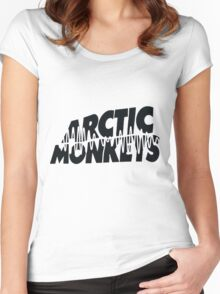 Arctic Monkeys- AM Women's Fitted Scoop T-Shirt