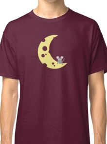 mouse on the cheese moon  Classic T-Shirt