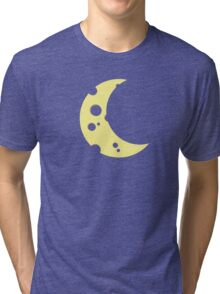moon from cheese  Tri-blend T-Shirt
