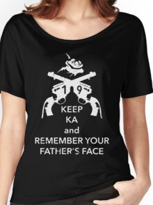 Keep KA - white edition Women's Relaxed Fit T-Shirt