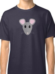sweet gray mouse face  Classic T-Shirt
