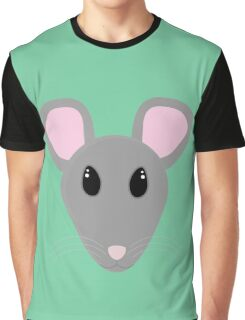 sweet gray mouse face  Graphic T-Shirt