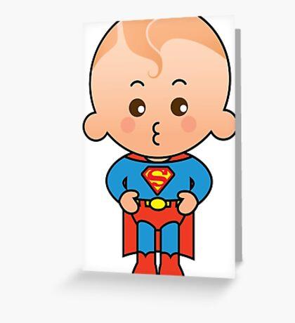Super Boy Greeting Card