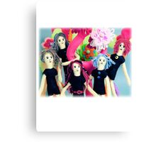 Fantasy Felt Doll Play Land Canvas Print