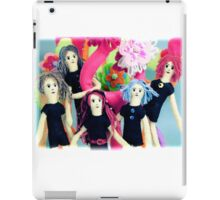 Fantasy Felt Doll Play Land iPad Case/Skin
