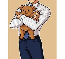 chilton and teddy bear by Ciorane