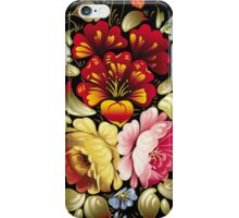 Large flowers iPhone Case/Skin
