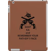 Keep KA - black edition iPad Case/Skin