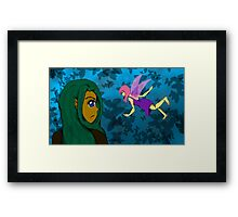 Elf and Fairy Framed Print