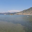 Panoramic Seascape of The Bay of Selimiye, Turkey by taiche