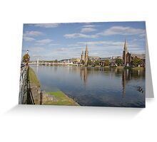 Inverness with Ducks Greeting Card