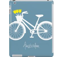 Amsterdam - bicycle with tulips iPad Case/Skin