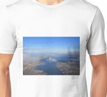 Cromarty Firth with Whooper Swans Unisex T-Shirt