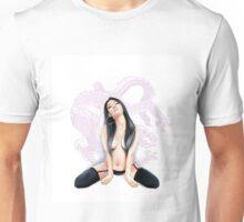 Sexy Asian Dragon Unisex T-Shirt