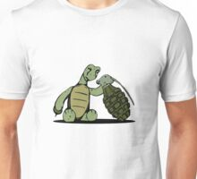 Turtle and Bombs Unisex T-Shirt