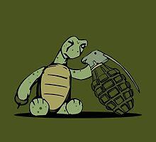 Turtle and Bombs by tanduksapi