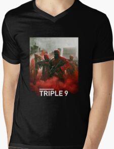 triple 9 movie Mens V-Neck T-Shirt