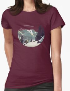 Pause Womens Fitted T-Shirt
