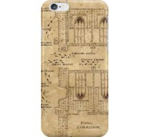 Marauder's Map, Footsteps iPhone Case/Skin