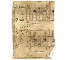 Marauder's Map, Footsteps Poster