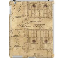 Marauder's Map, Footsteps iPad Case/Skin