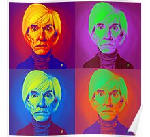 Andy Warhol on Andy Warhol Poster