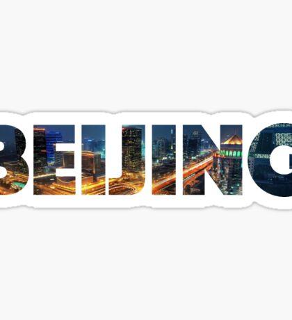 Beijing, China | CITY Sticker