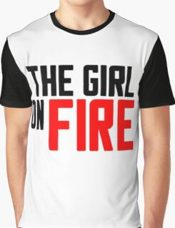 The Girl on Fire Graphic T-Shirt