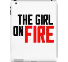 The Girl on Fire iPad Case/Skin