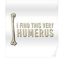 I find this very humerus Poster