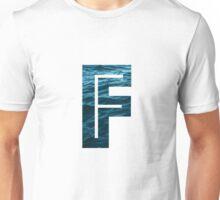 """The Letter """"F"""" Ocean Unisex T-Shirt"""