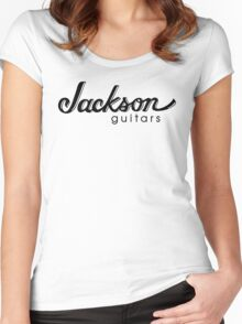 jackson music guitars logo  Women's Fitted Scoop T-Shirt