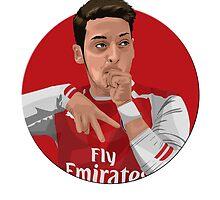 Mesut Özil by siddick49