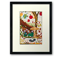 Mole and the Mushroom Framed Print