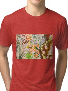 Nut Hatch and Caterpillar Tri-blend T-Shirt