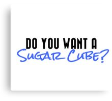 Sugar Cube Canvas Print