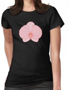 Pink Orchid Womens Fitted T-Shirt