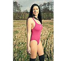 Countryside Swimsuit Photographic Print
