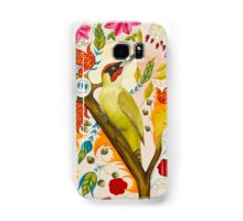 Green Woodpecker Samsung Galaxy Case/Skin