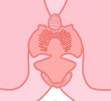 Dodgy - Pink Orchid Sticker