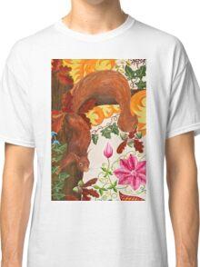 Cheeky Squirrel on Oak Classic T-Shirt