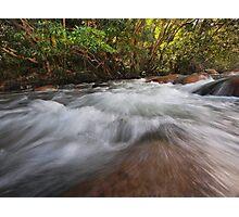 Broadwater Rush Photographic Print