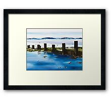 Evening Beach Framed Print